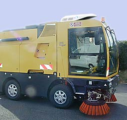 Air-Conditioner Hy-Gloo for vehicle cabins Street Sweeper